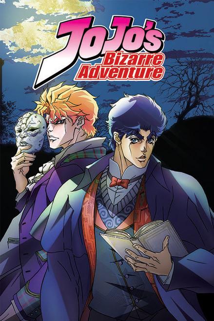 JoJo's Bizarre Adventure Jonathan and Dio Poster.