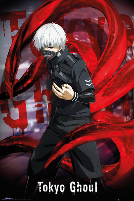 Tokyo Ghoul Mask Poster.