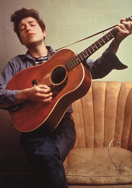 Bob Dylan Guitar Poster.