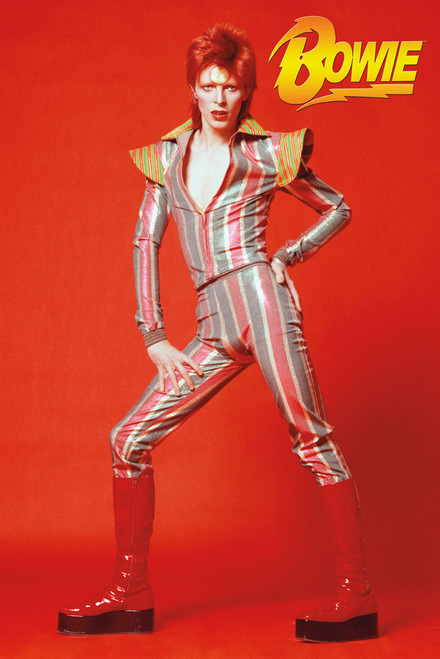David Bowie Glam Poster.