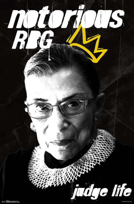 Notorious RBG Poster.