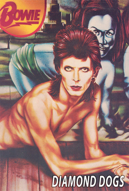 David Bowie Diamond Dogs Poster.