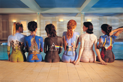 Pink Floyd Album Covers Poster.