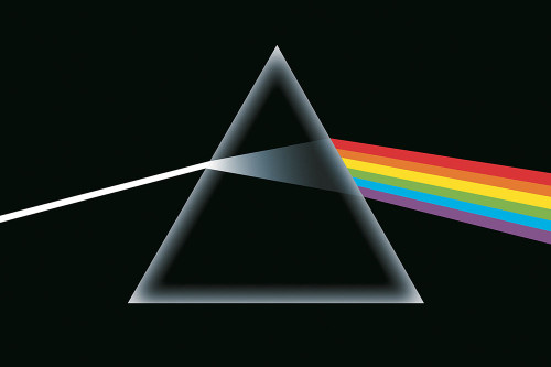 Pink Floyd Dark Side of the Moon Poster.