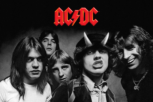 AC/DC Poster.