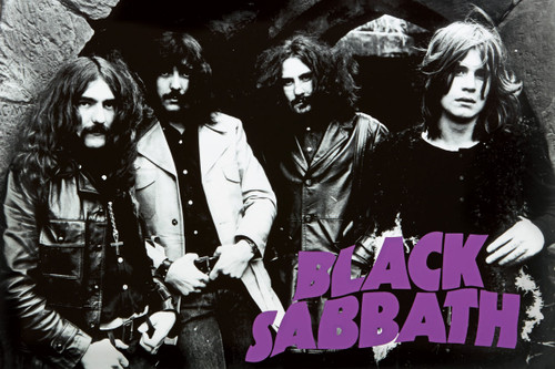 Black Sabbath Poster.