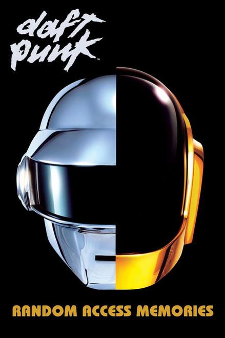 Daft Punk Random Access Memories Poster.