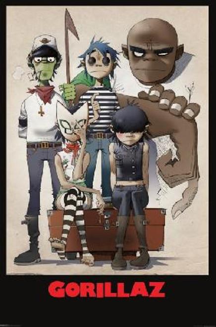 Gorillaz Poster.