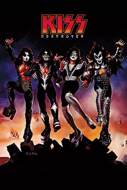 Kiss Poster.