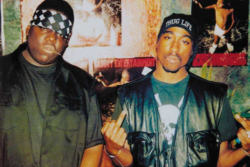 Tupac and Biggie Poster.