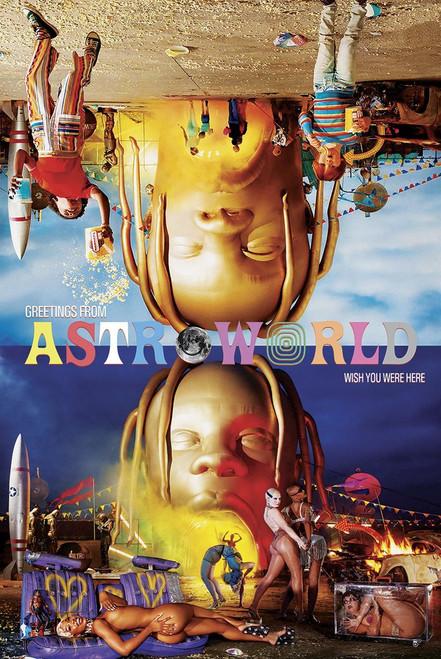 Travis Scott Astroworld Poster.