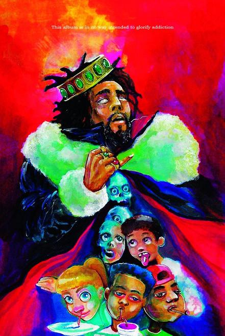 J. Cole KOD Poster.