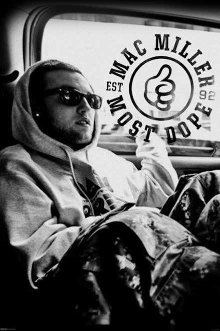 Mac Miller Most Dope Poster.