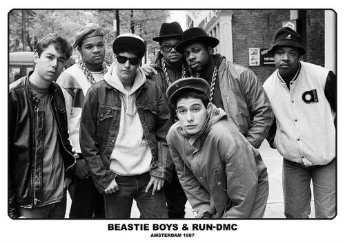 Beastie Boys and Run DMC Poster.