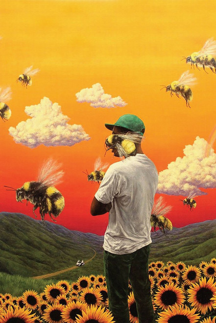 Tyler the Creator Flower Boy Poster.