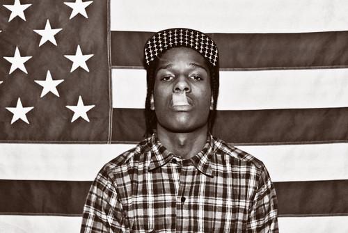 A$AP Rocky Poster.