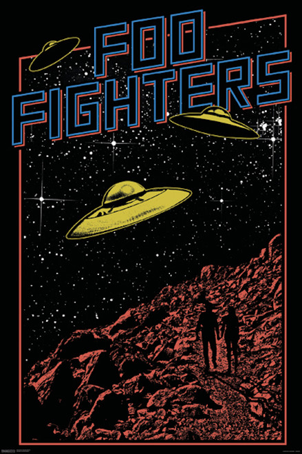 Foo Fighters Poster.