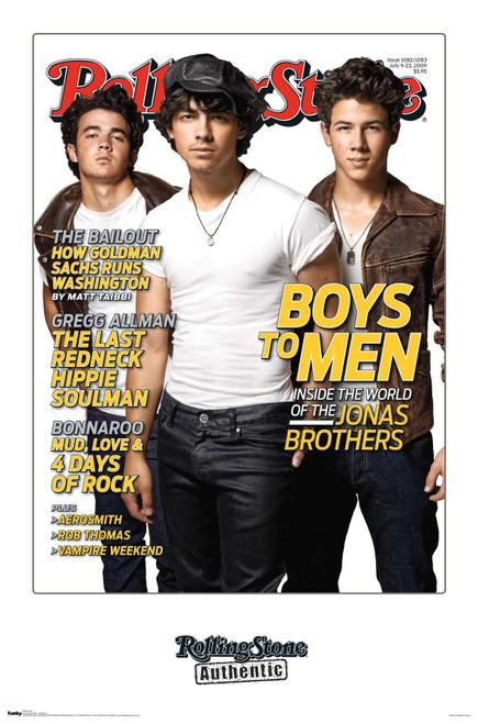 Jonas Brothers Poster.