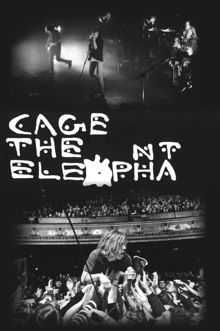 Cage the Elephant Poster.