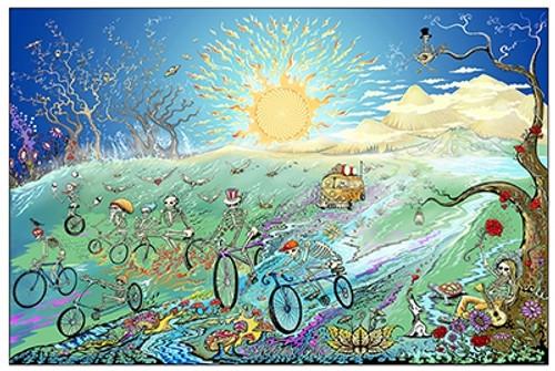 Grateful Dead Summer Tour Poster.