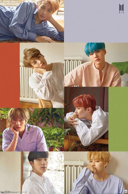 BTS Bangtan Boys Group Poster.