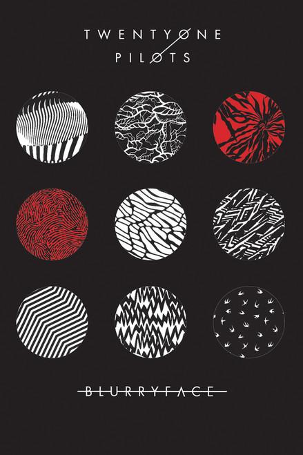 Twenty One Pilots Poster.