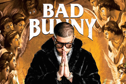 Bad Bunny Poster.