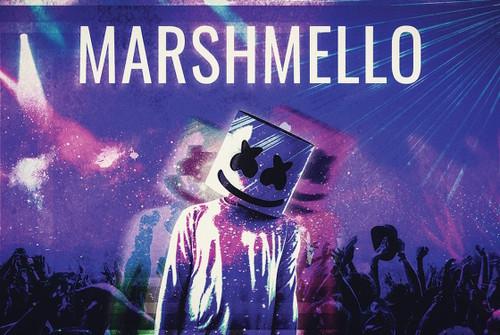 Marshmello Poster.