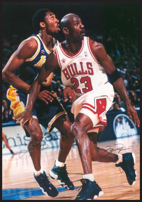 Jordan and Kobe Poster.