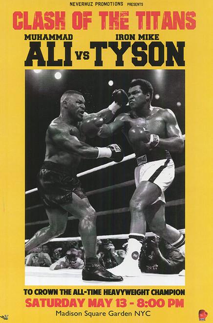 Ali vs. Tyson Poster.
