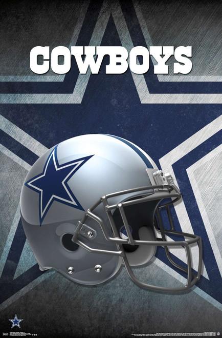 Cowboys Helmet Poster.