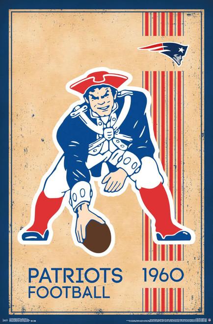 Patriots Retro Poster.