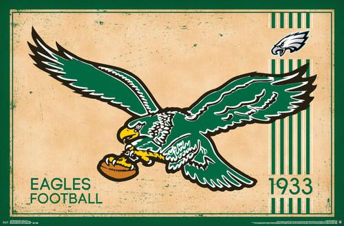 Eagles Retro Poster.