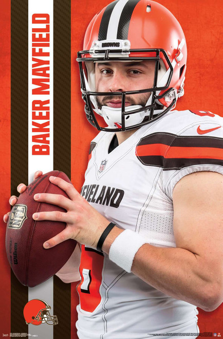 Cleveland Browns Baker Mayfield Poster.