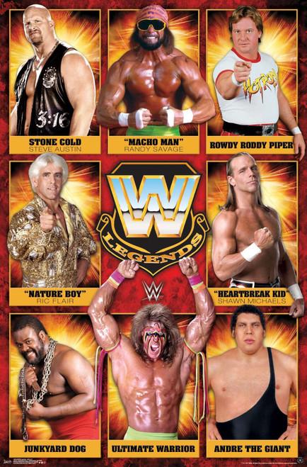 WWE Legends Poster.