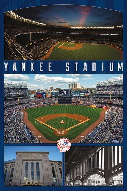 Yankee Stadium Poster.