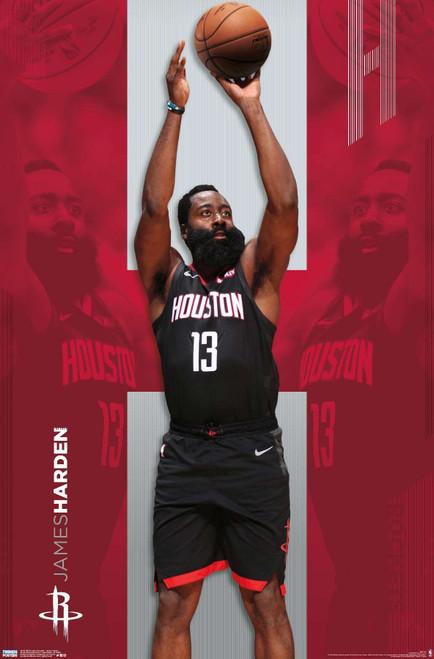 James Harden Houston Rockets Poster.
