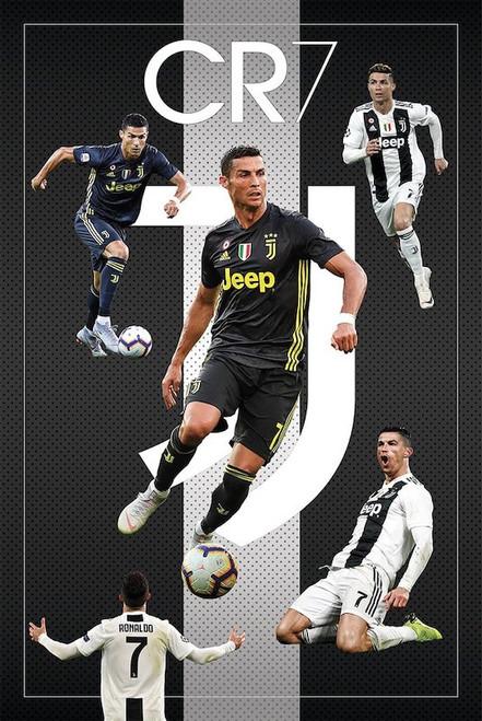Ronaldo Madrid 7 Poster.