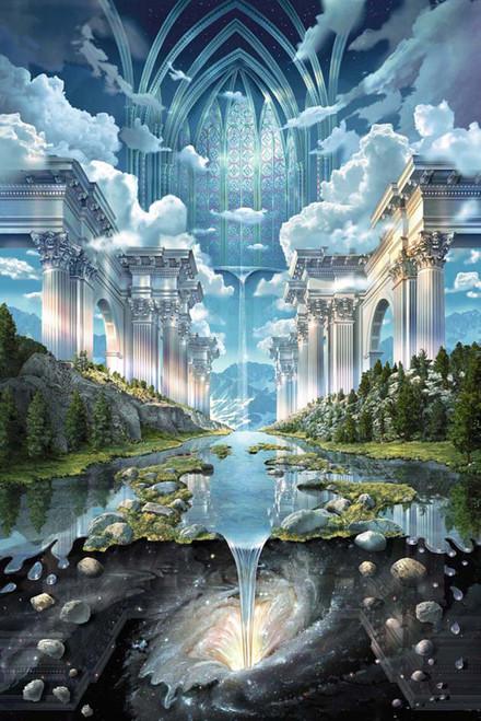 Genesis II by John Stevens Poster.