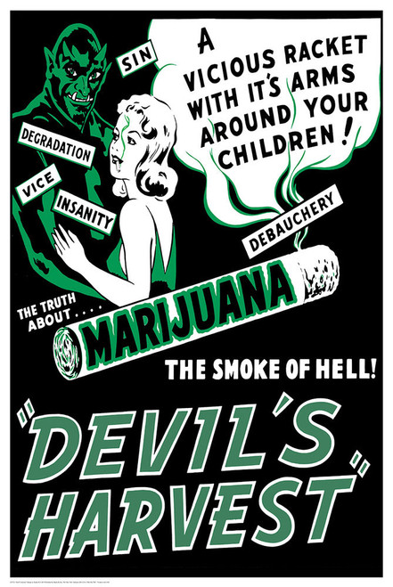 Devil's Harvest Poster.