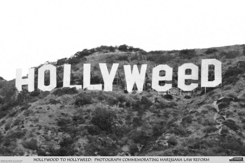 Hollyweed Poster.