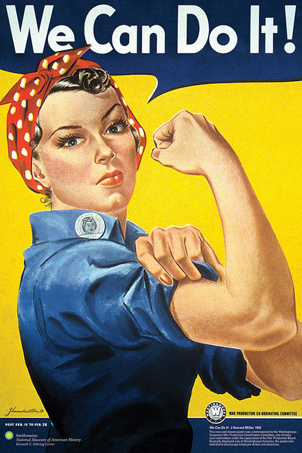 Rosie the Riveter Poster.