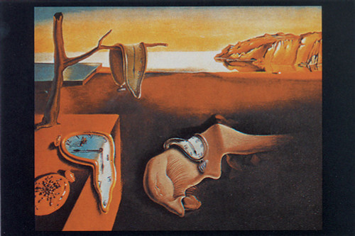 Persistence of Memory by Dali Poster.