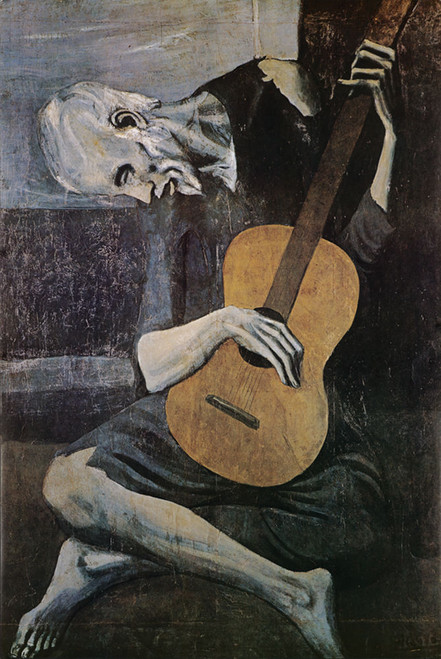 Picasso Old Guitarist Poster.