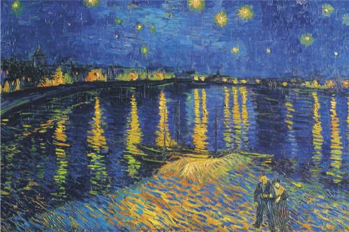Van Gogh Starry Night Over The Rhone.
