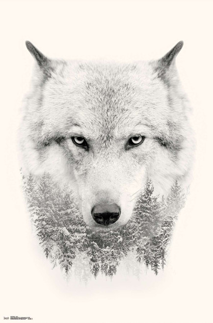 Wolf Trees Poster.