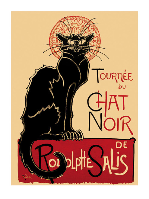 Chat Noir Poster.