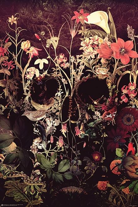 Blossom Skull Poster.