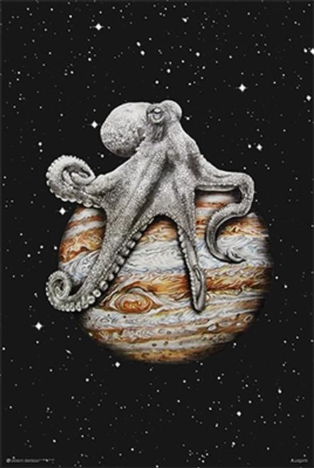 Celestial Cephalopod Poster.