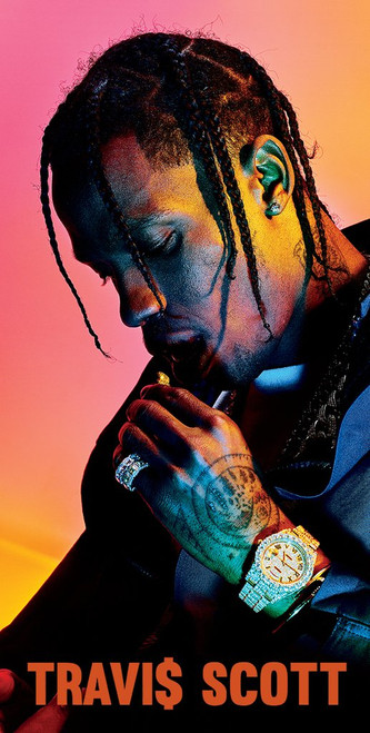Travis Scott Portrait.